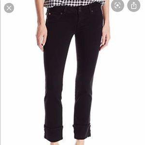 Hudson Ginnie cropped stretch jeans